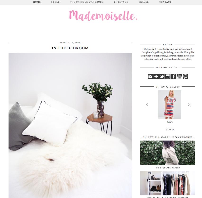 Madamois-elle blog