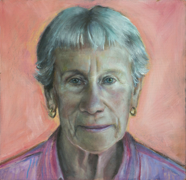 Hannalore Frontzen, beeswax & oil on canvas,  From the Face of Extraordinary: Volunteers book. #Stephanie Galloway Brown