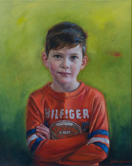 Hugh, Oil on canvas 2015