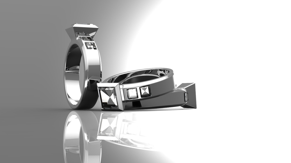 Engagement Ring CAD Design