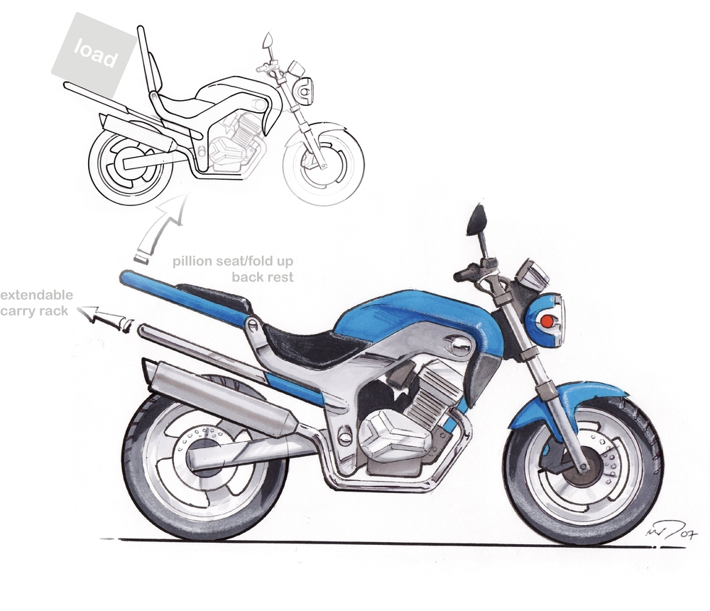 Haojiang Concept Motorcycle