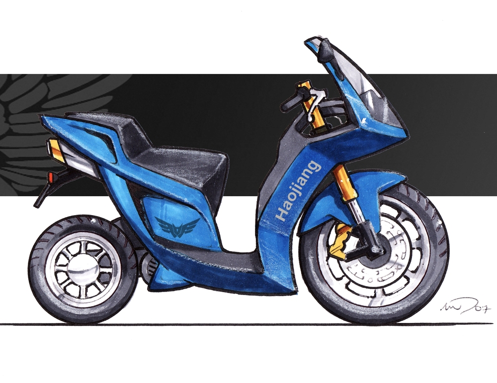 Wind Protection Haojiang Motorcycle