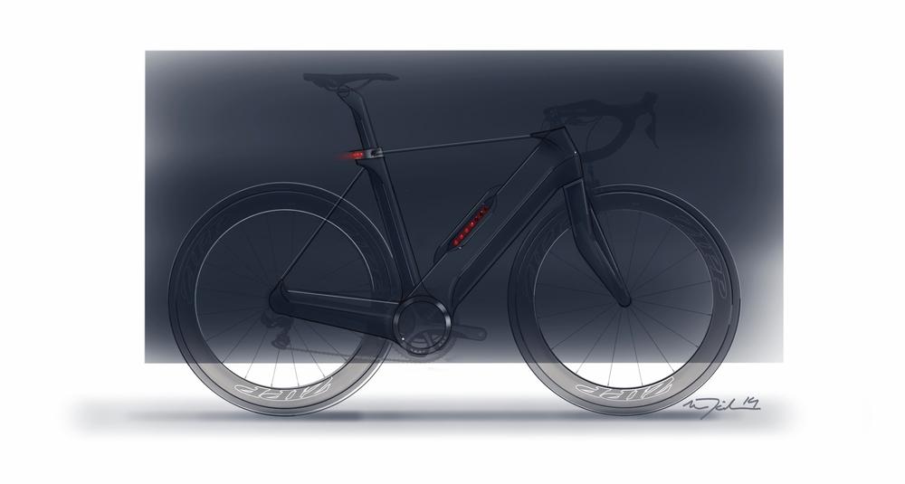 Modern Tensegrity Bicycle