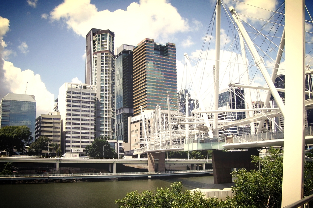 Kurilpa Bridge - Brisbane CBD