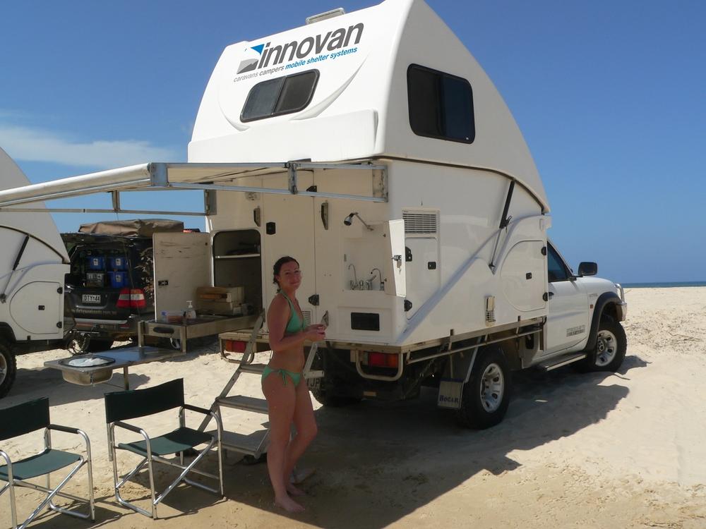 innovan camping trailer