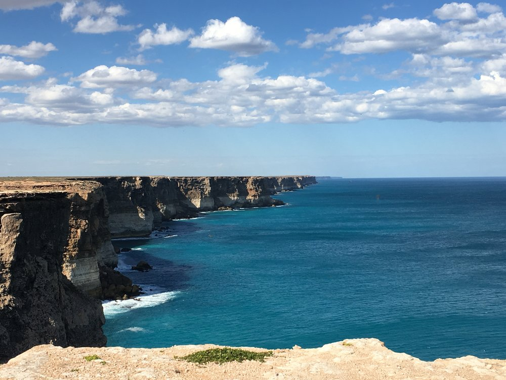Picturesque cliffs in WA