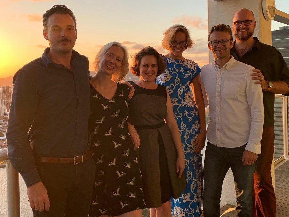 CDG enjoy their Team Christman party 2018