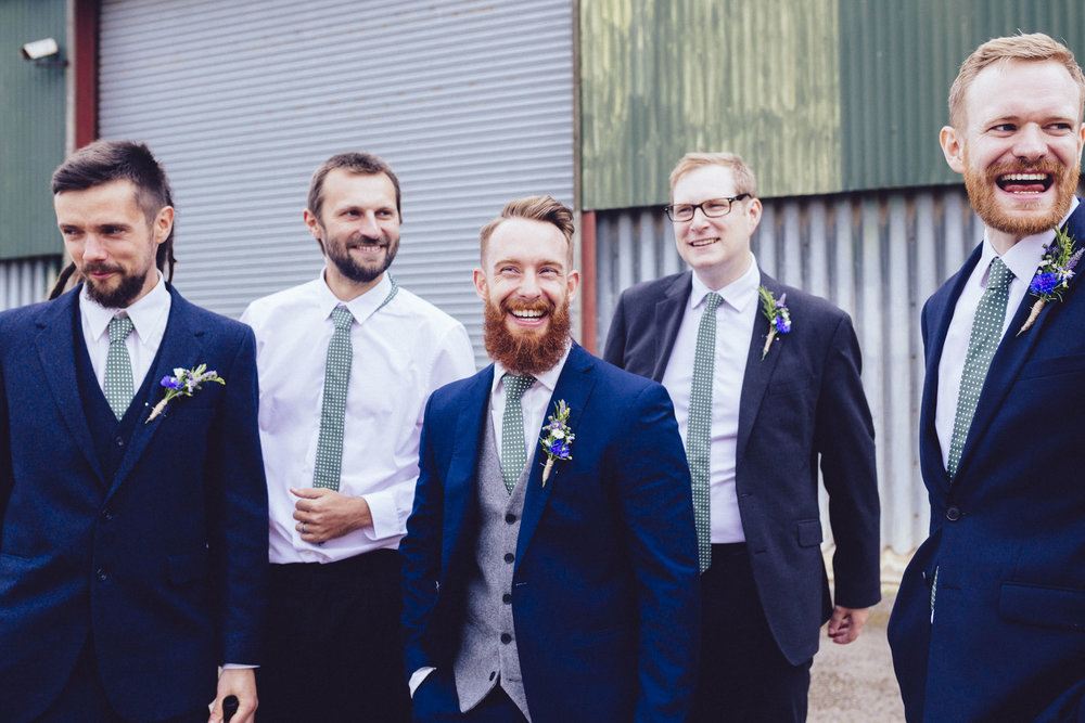 23Curious Rose Wedding Photography- Laura Rhodes- Newton Park Farm- Birmingham Artistic wedding photography-wedding beards.jpg