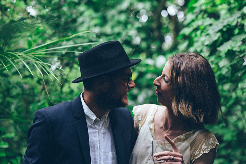 ELISE & CORY - UNCONVENTIONAL SPARKLY WEDDING | NEW ZEALAND