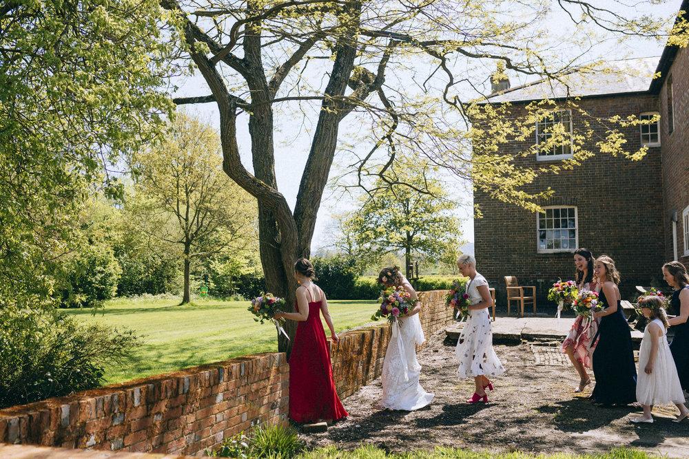 Birmingham relaxed alternative wedding photographer- the secret barn- petal and feast- curious rose photography- laura rhodes- boho bride-0016.JPG