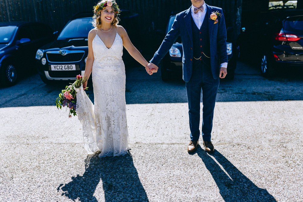 Birmingham relaxed alternative wedding photographer- the secret barn- petal and feast- curious rose photography- laura rhodes- boho bride-0062.JPG