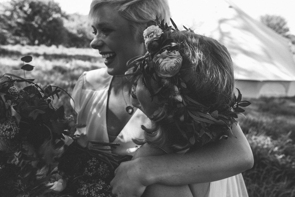 Birmingham relaxed alternative wedding photographer- the secret barn- petal and feast- curious rose photography- laura rhodes- boho bride-0048.JPG