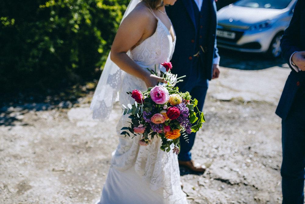 Birmingham relaxed alternative wedding photographer- the secret barn- petal and feast- curious rose photography- laura rhodes- boho bride-0060.JPG