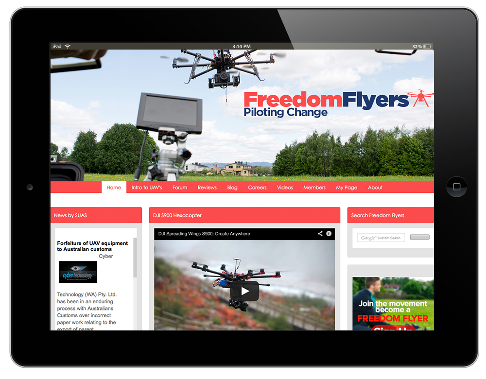 Visit the website - freedomflyersusa.com