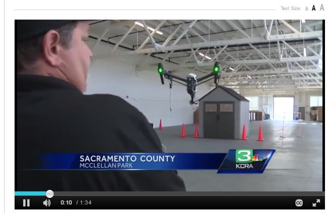 Drone University USA As Featured on KCRA 3
