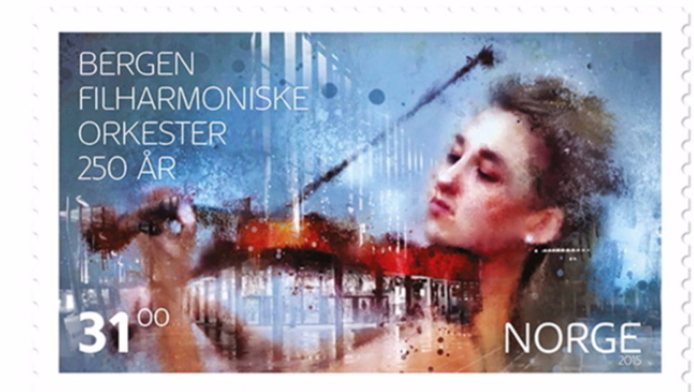 Sarah is portrayed on the official stamp of Bergen Philharmonic Orchestra from 2015.
