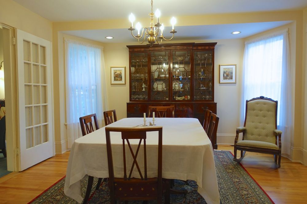 Dining Room, view from the Kitchen