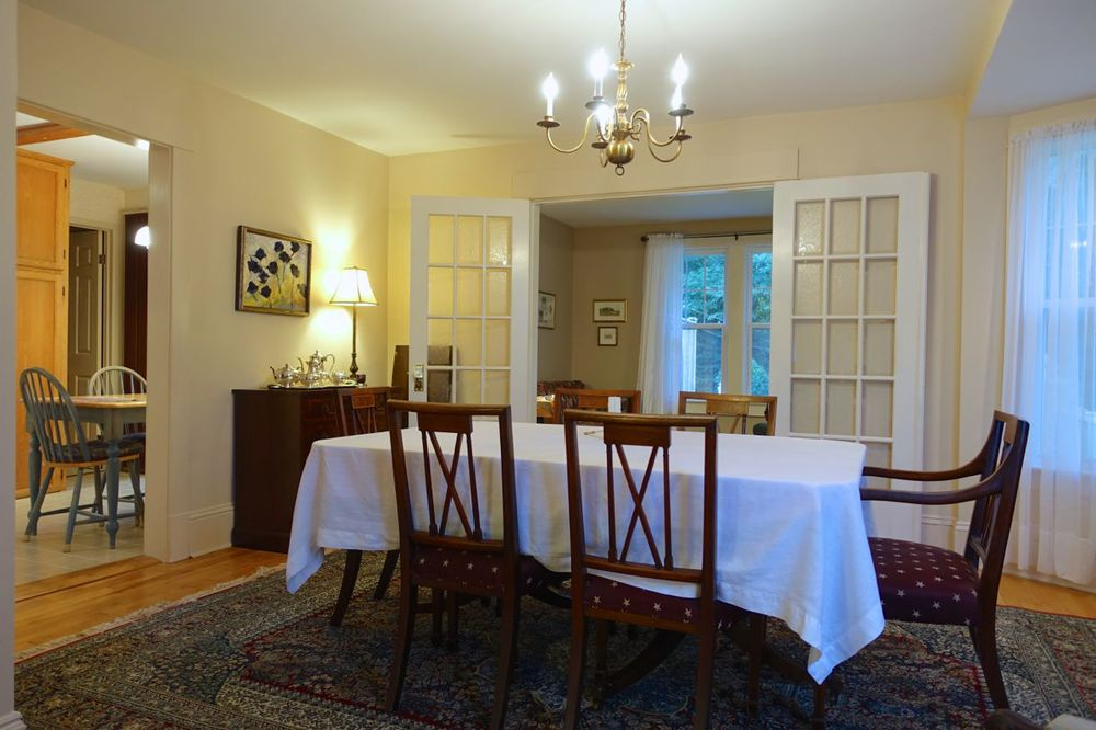 Dining Room viewed from the Living Room