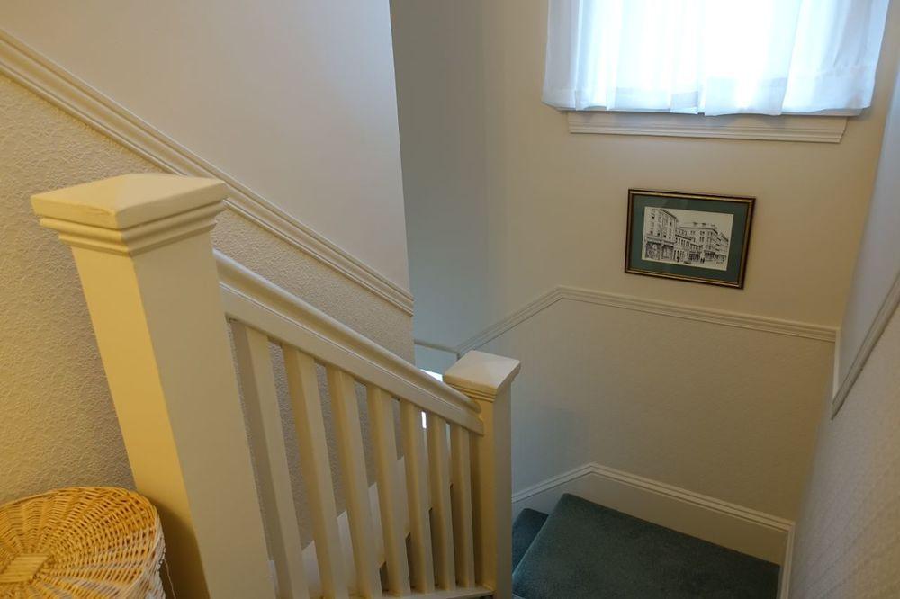Stairway to down main floor