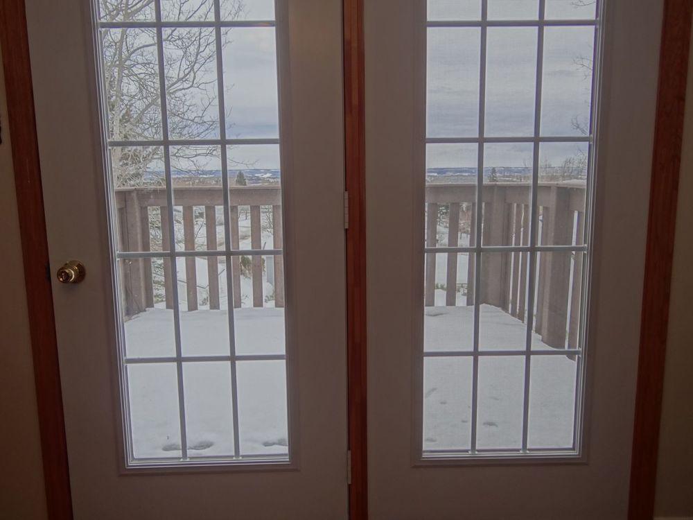 Patio Doors to Sun Deck