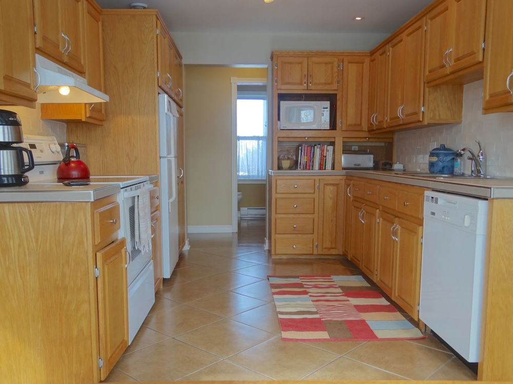 Large Open Galley Kitchen