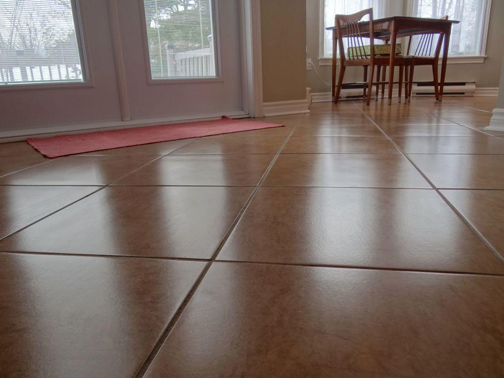Family Room Ceramic Flooring