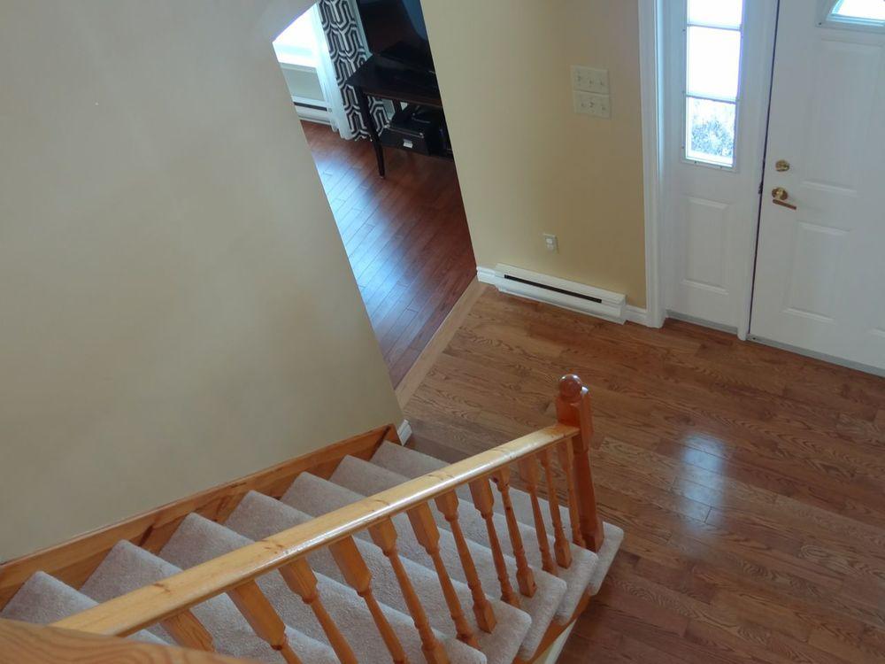 Stairway to 2nd. Floor