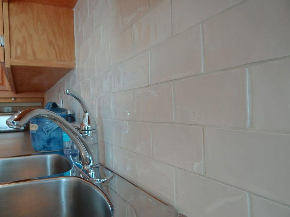 New Ceramic back splash