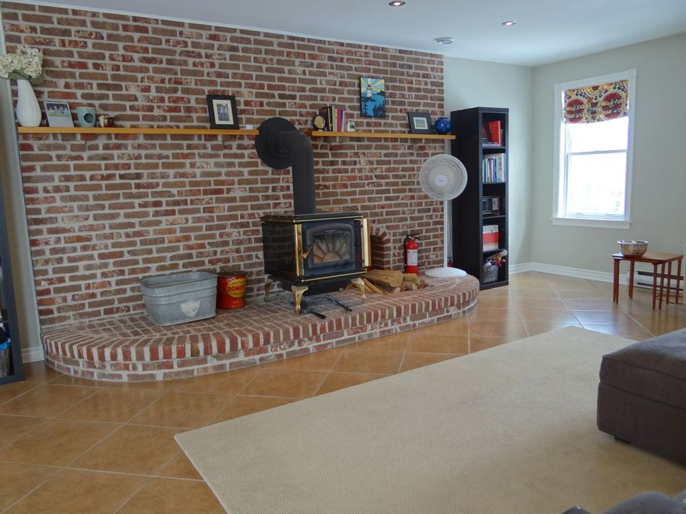 Family Room - Wood Stove