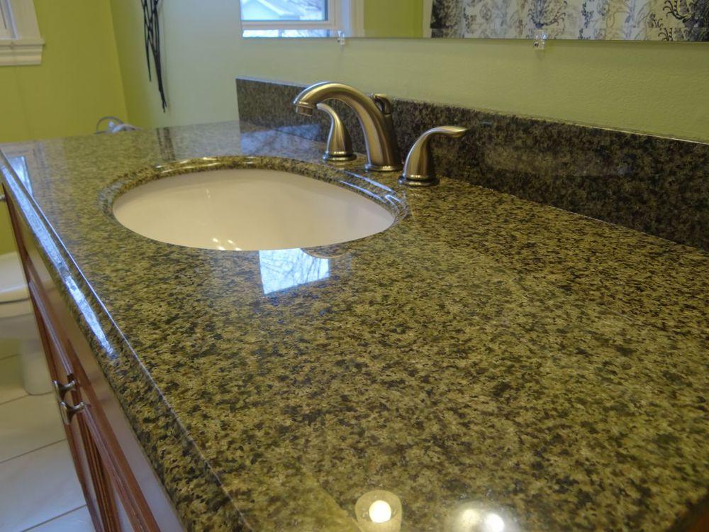 Granite-top vanity