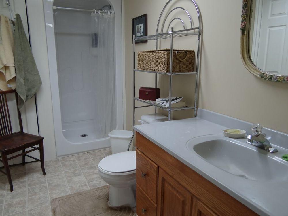 Lower level 4-pc bath