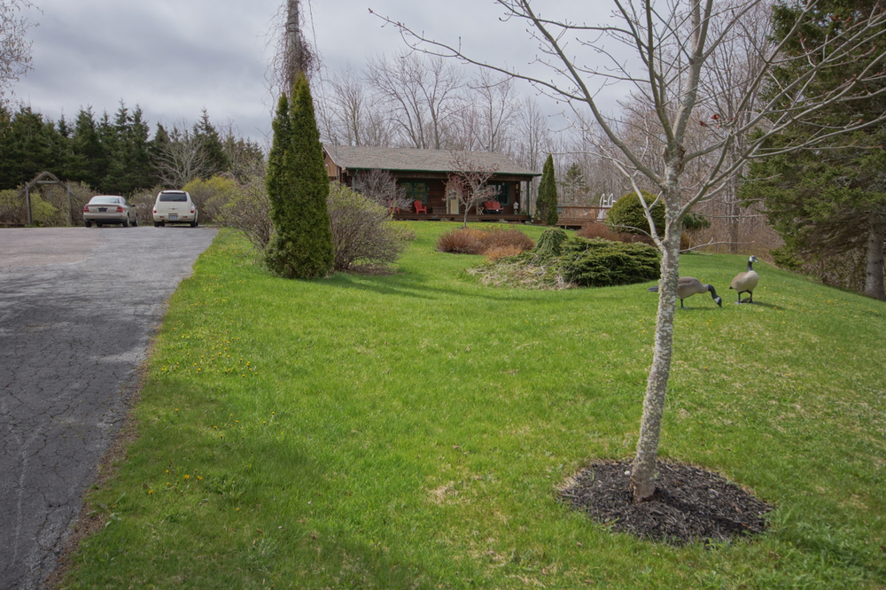 Located on a 2.3 acre lot