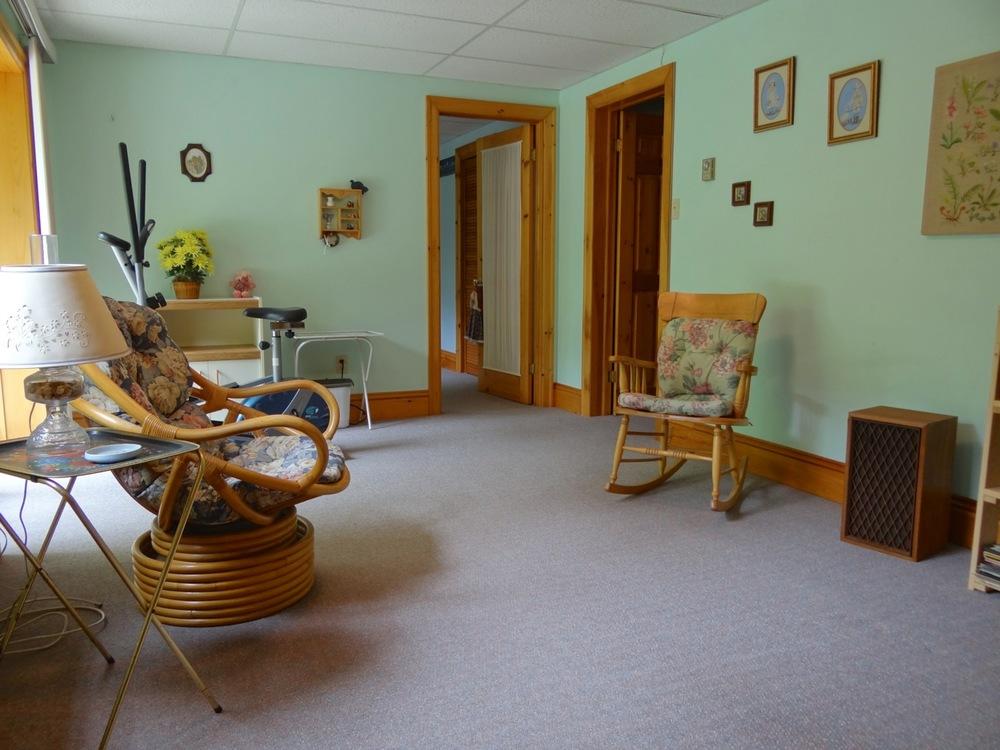 Family Room (lower level)