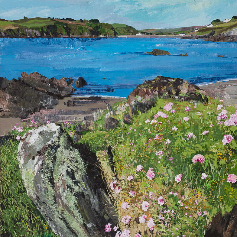 Sea Pinks at Squince, Union Hall 55x54.jpg