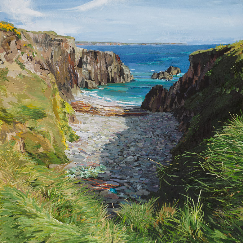 The Cove near Nun's Strand, Ring