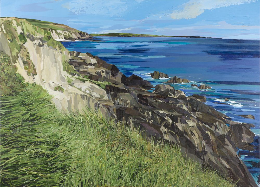 Irish seascapes paintings art