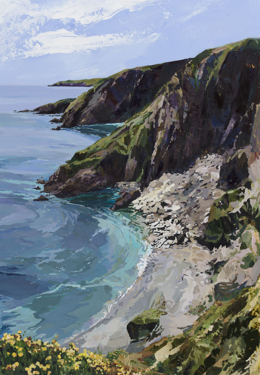 Seven Head's Cliff Walk, 79x67cm.jpg