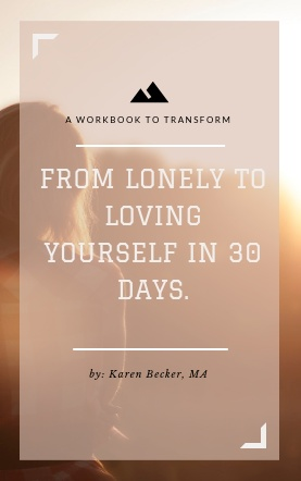 Kindle Cover - From lonely to loving yourself in 30 days..clipular.png