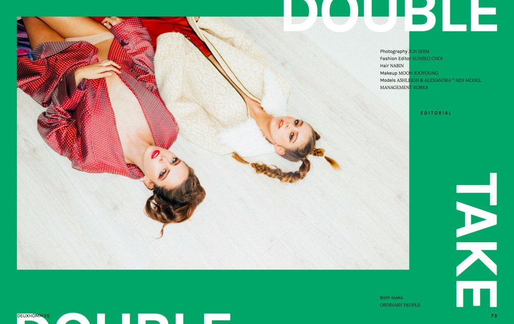 Deux Hommes Issue 5 - Online Magazine