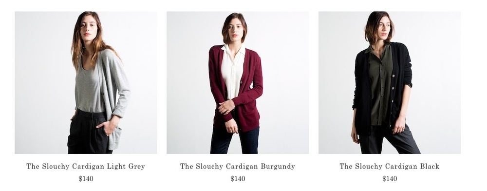 Everlane Catalogue Imagery