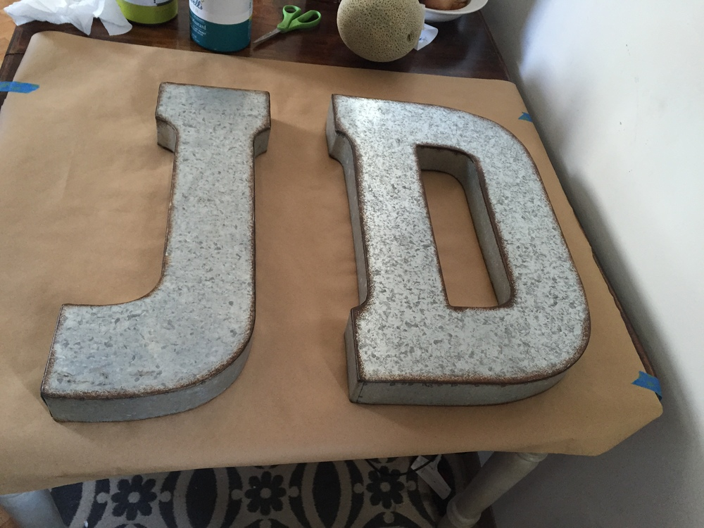 Hobby Lobby Marquee letters