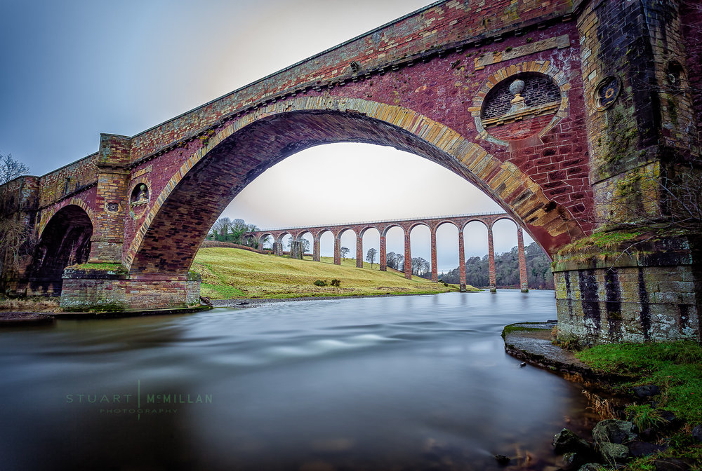 Leaderfoot Viaduct Canon 5D MKII | EF17-40mm f/4L USM | ISO 50 | f/8.0