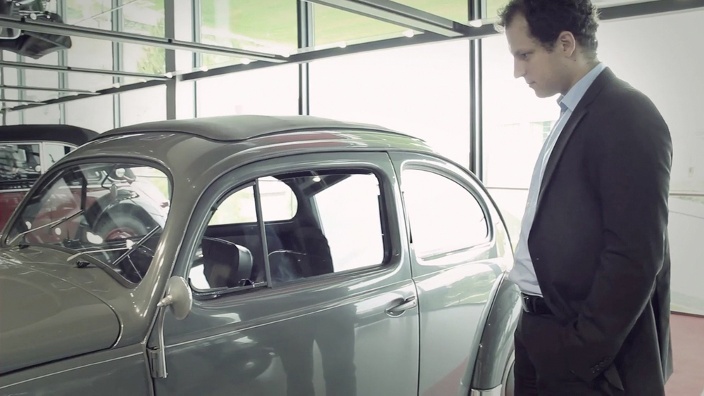 VW Beetle, Wolfsburg – Scene from Design the New Business movie