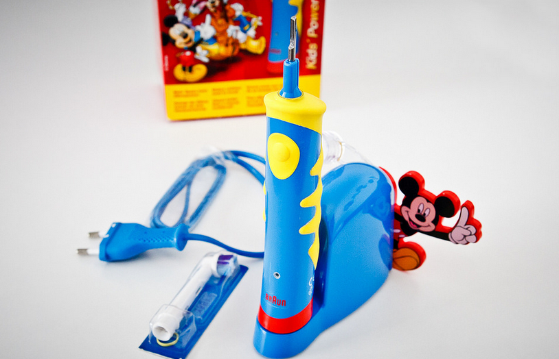 Electric toothbrushes can resemble popular toys