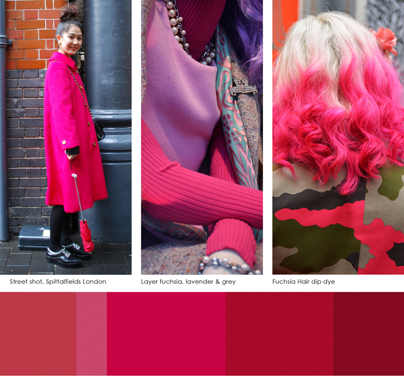 Images and Colour combinations from Luminary Colour. All photography by Anna Starmer, created for Luminary Colour Publications.