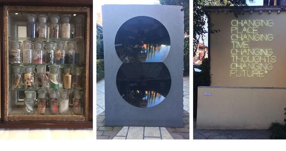 The Peggy Guggenheim Museum - Joseph Cornell, Anish Kapoor, Maurizio Nannucci