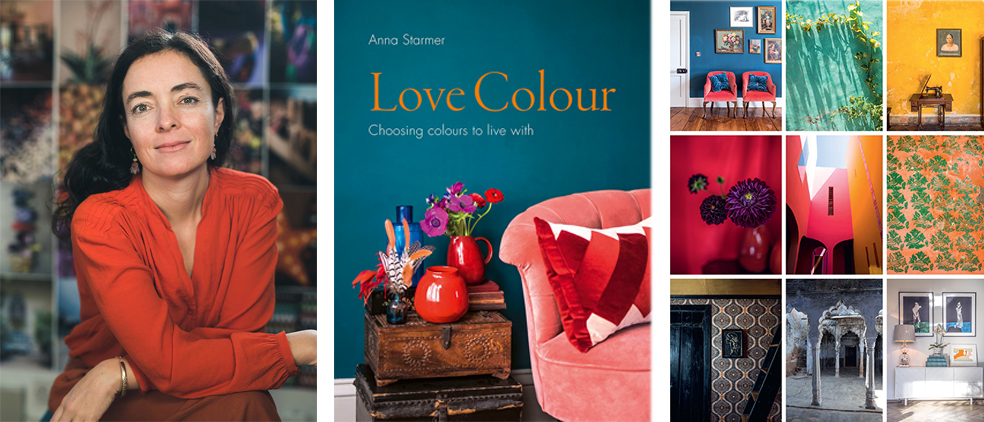 Love Colour  by Anna Starmer is now available to buy at all good book stores