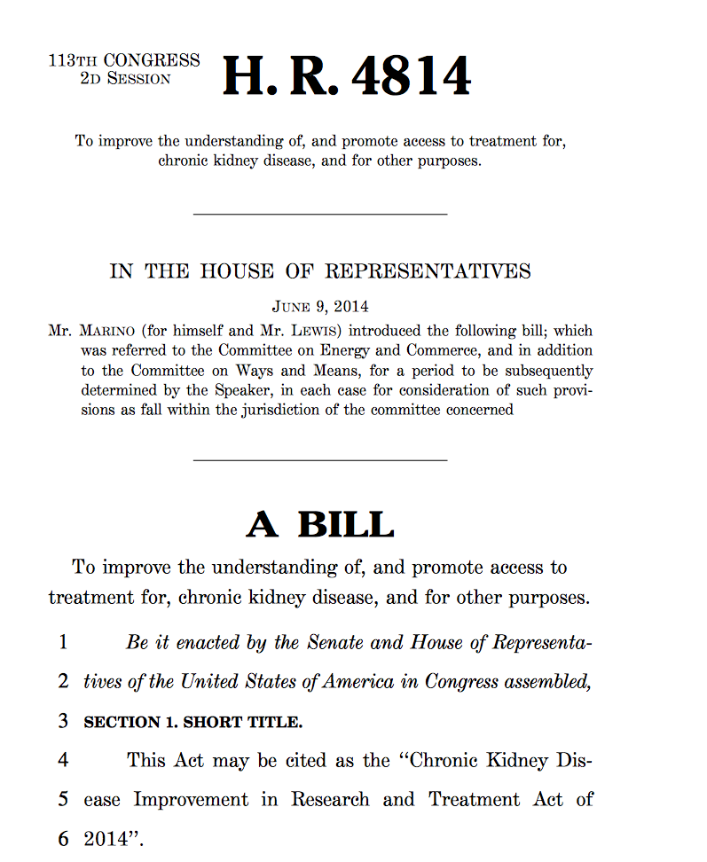 click the image to down load the 21 page house version of the bill.