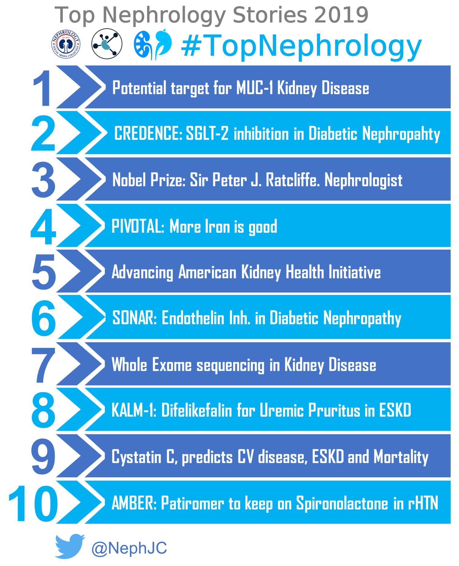 The Top Nephrology Stories Of 2019 Nephjc