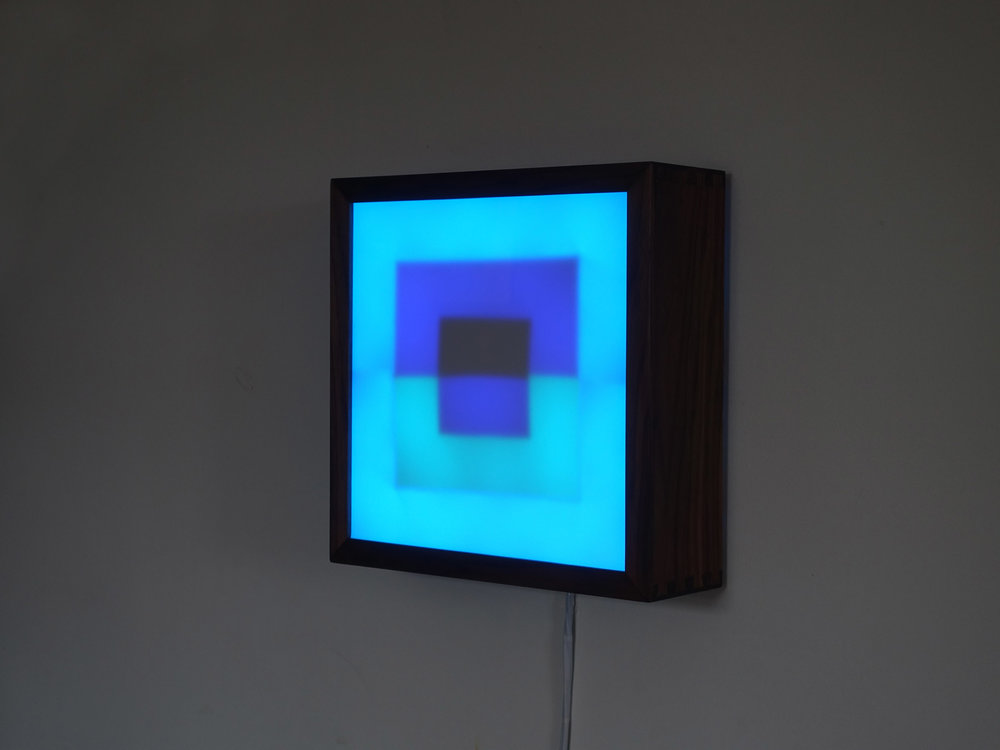 Copy of Square LED Lightbox prototype 2 of 5
